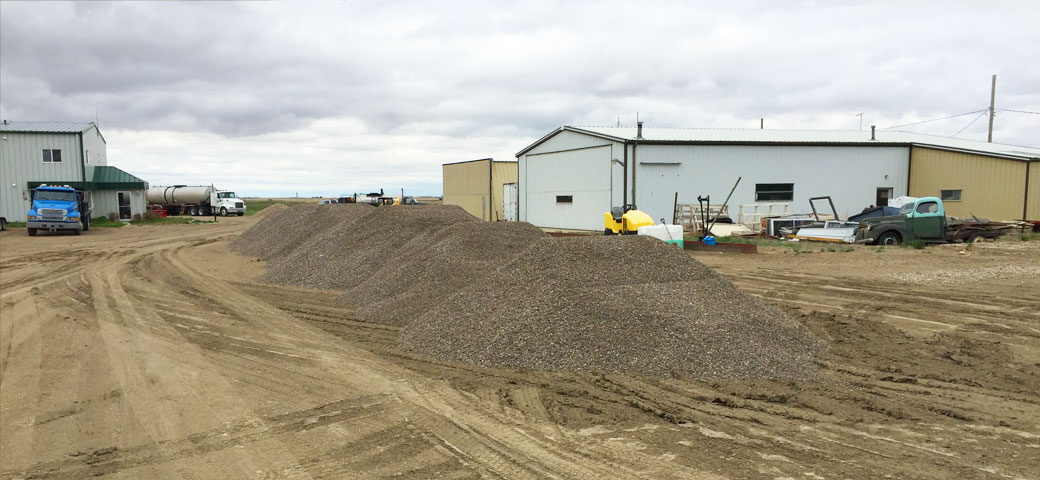 Goldburg Gravel is participating in AirStrip construction of Rosetown Airport.